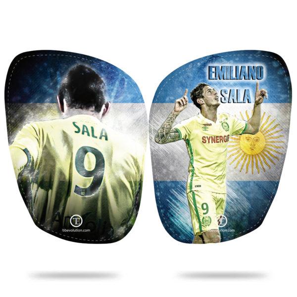 Protege-tibias Emiliano Sala
