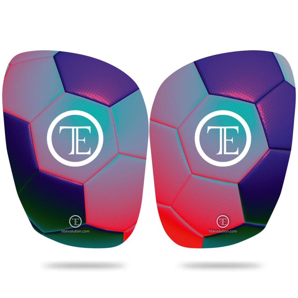 Protege-tibia Football 3 fibre de verre
