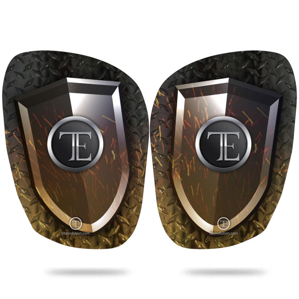 Protege-tibia Shield Fire fibre de verre