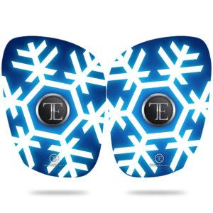 protege-tibia Snowflakes fibre de verre