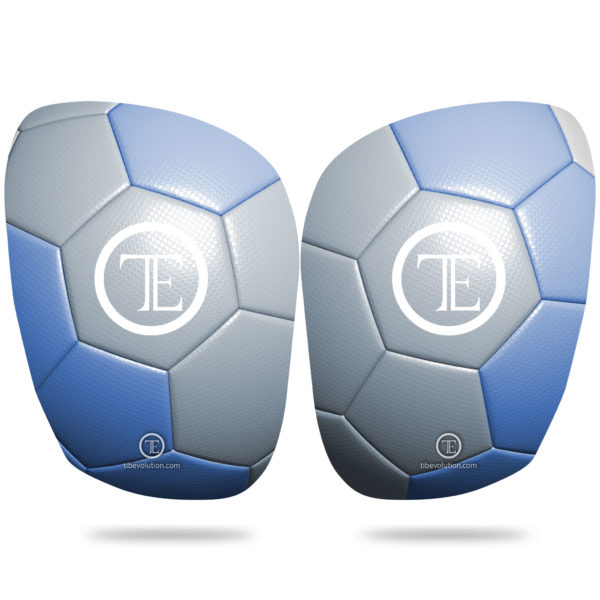 Protege-tibia Football 1 fibre de verre