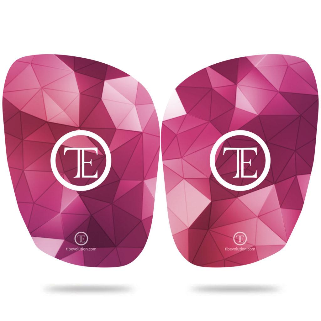 Protege-tibia Square 2 fibre de verre