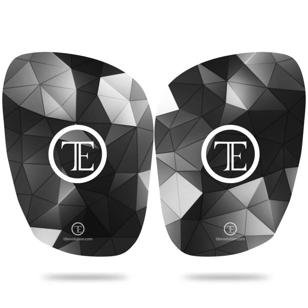 Protege-tibia Square 3 fibre de verre