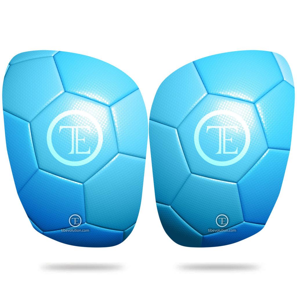 Protege-tibia Football 2 fibre de verre