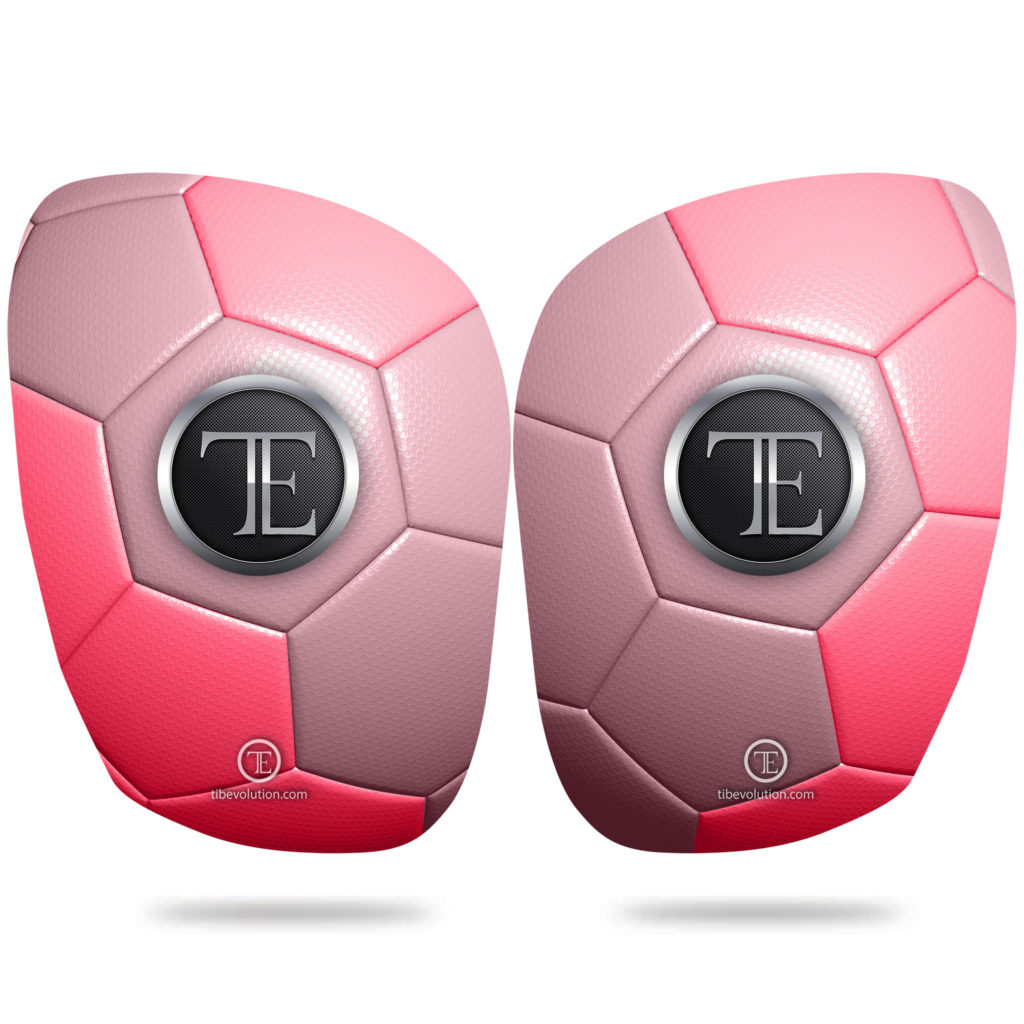 Protege-tibia Football one 4 fibre de verre