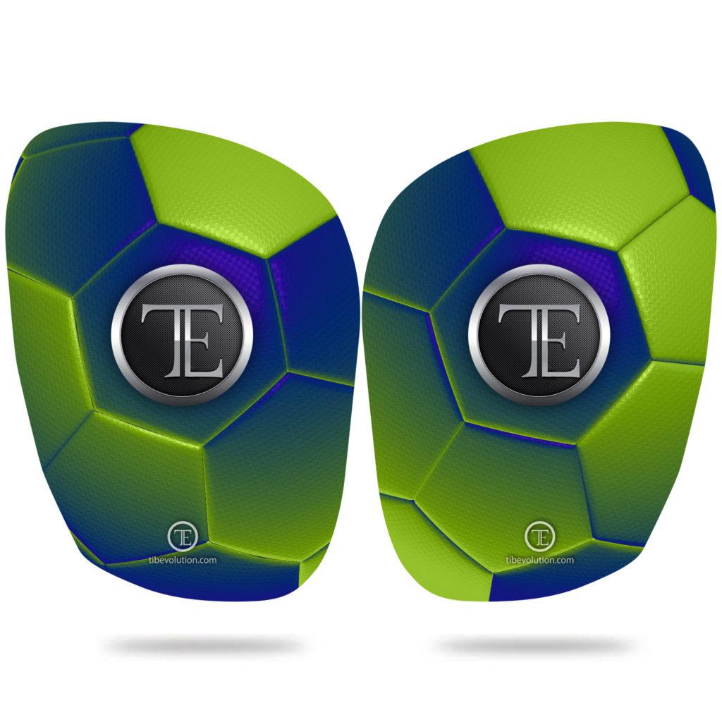 Protege-tibia Football one 2 fibre de verre