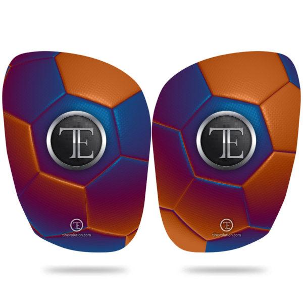 Protege-tibia Football one 1 fibre de verre