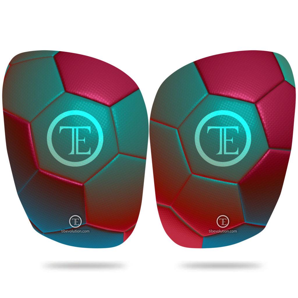 Protege-tibia Football 5 fibre de verre